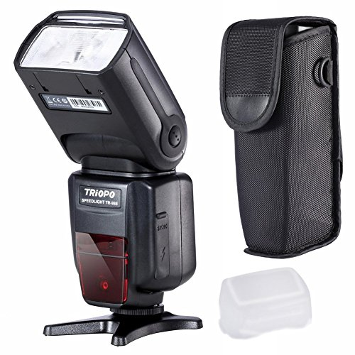 Triopo TR-180 Flash Speedlite for Nikon DSLR Cameras - 3