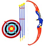 zombie bow targets - CHIMAERA Bow & Arrow Archery Set for Kids - Includes Arrows, Target and Quiver