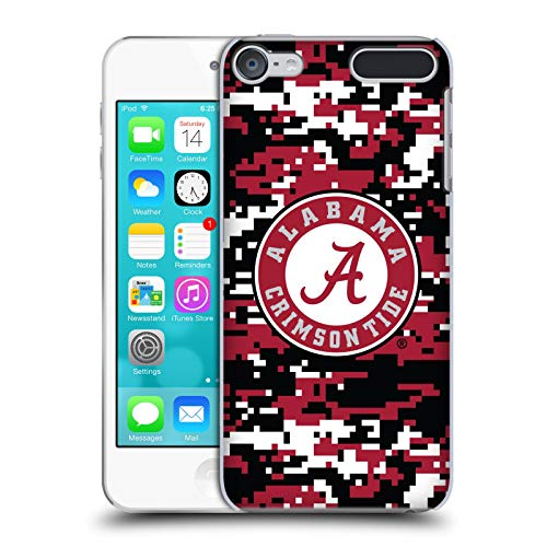 Official University of Alabama UA Digital Camouflage Hard Back Case Compatible for Touch 6th Gen/Touch 7th Gen (Alabama Ipod Touch Case)