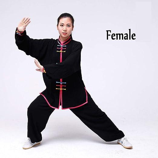 QWER Clásico Unisexo Trajes Tang Kung Fu Artes Marciales Conjuntos ...