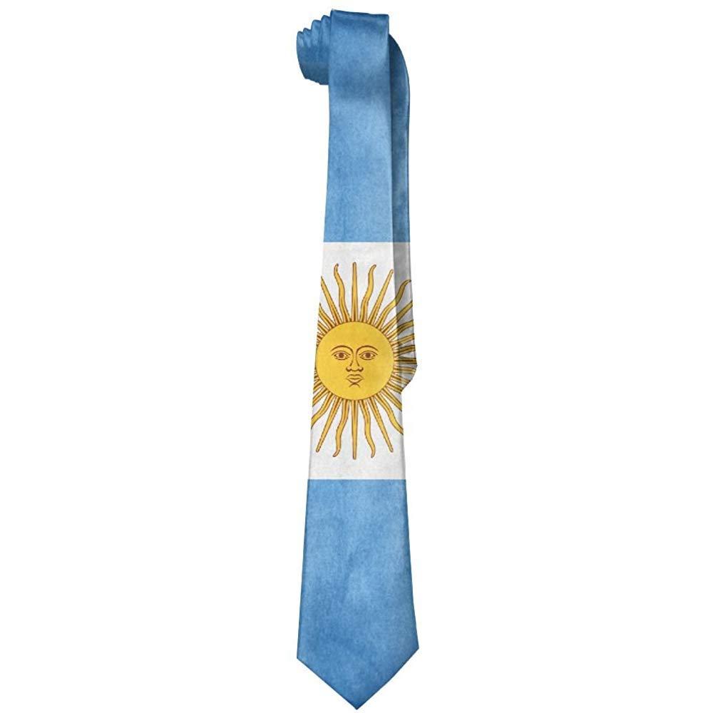 Men S Argentina Flag Corbata vintage Corbata Corbata de seda ...