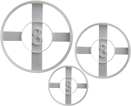 8 bolas de billar forma de galleta cortador (masa galleta ...
