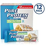 Pure Protein Bars, Birthday Cake, 1.76oz, 12 Pack