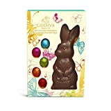 Godiva Chocolatier Milk Chocolate Solid Bunny With Foil Eggs