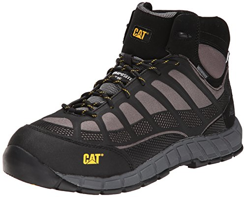 Caterpillar Mens Streamline Mid Waterproof Comp Toe Work Boot Grey lJ4pomE3iL