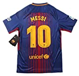 NEW 2017-2018 Messi #10 MEN'S Barcelona Home Jersey (X-Large)