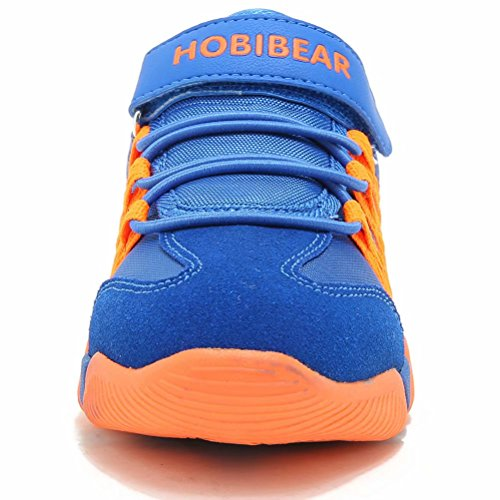 Image of JIAWA Boys Sneakers Casual Strap Lightweight Sports Running Shoes for Kids(Toddler/Little Kid/Big Kid)