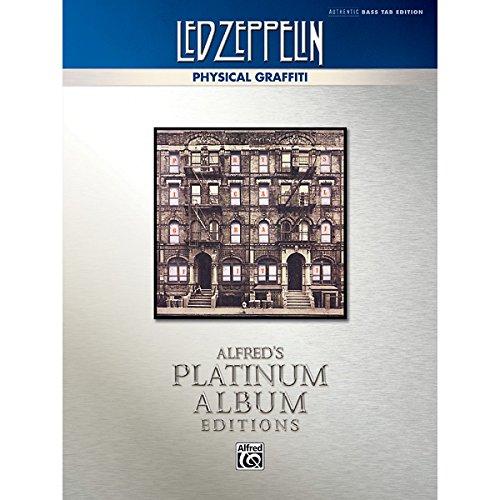Alfred Led Zeppelin - Physical Graffiti Platinum Bass Guitar Book