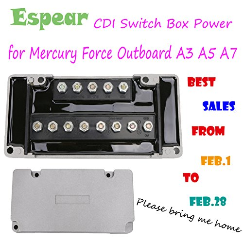 For Mercury Force Outboard A3 A5 A7 CDI module Switch Box Power (Outboard Switch Box)