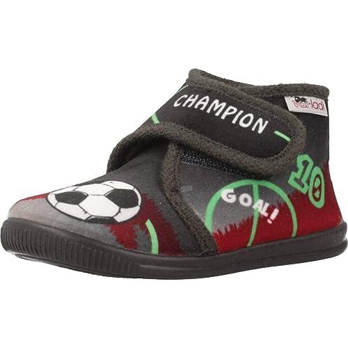 Zapatillas niños de Estar por casa, Color Azul, Marca VULLADI, Modelo Zapatillas Niños De Estar por Casa VULLADI 2112 140 Azul: Amazon.es: Zapatos y ...