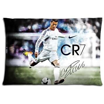 16-24 sofa pillow protectors cases Polyester Cotton pillowcases Safe Cristiano Ronaldo