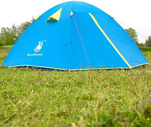 GREEN B Smart Pop-up Duo Easy Setup tents Outdoor 4 Person Camping Hiking Tent