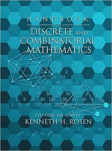 Handbook of discrete and combinatorial mathematics discrete handbook of discrete and combinatorial mathematics discrete mathematics and its applications kenneth h rosen 9780849301490 amazon books fandeluxe Images