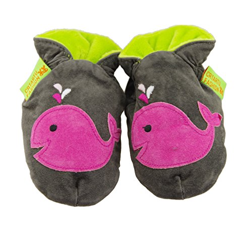 Thickened handmade Baby Toddler first walkers soft bottom shoes Whale Shoes childhood shoes 18-24Months 14.5CM