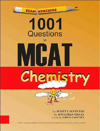 by Scott Calvin,by Jonathan Examkrackers 1001 Questions in MCAT Chemistry(text only)[Paperback]2002