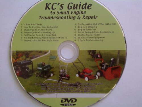 - KC's Guide to Small Engine Troubleshooting & Repair