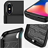 NEWDERY Upgraded iPhone X Xs Battery Case Qi