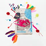 Create your own colorful dreamcatcher! This easy to make DIY kit comes with bright colorful feathers, pom poms, beads, and bold ribbon to make a one-of-a-kind creation. Weave your own design, then hang it on a bedpost or in a special place in y...