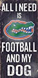 Fan Creations C0640 University Of Florida Football And My Dog Sign