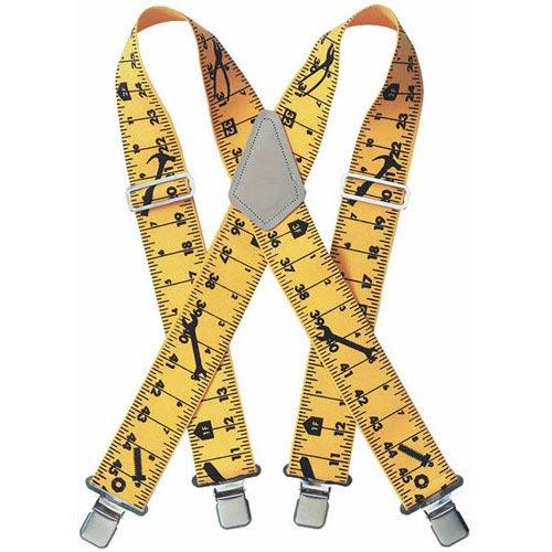 Custom Leathercraft Tape Rule Suspender Clipstrip 110RUC