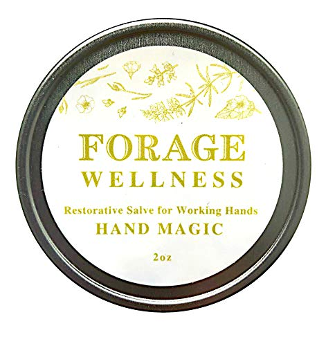 - Hand Magic Healing Salve - Zero Waste 2oz Tin - Natural Herbal Balm