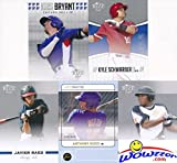 Chicago Cubs Word Series Champions Ultimate Rookie Card Collectors Package! Includes MINT Rookie Cards of Kris Bryant, Kyle Schwarber, Anthony Rizzo, Javier Baez & Addison Russell! Makes a Great Gift!