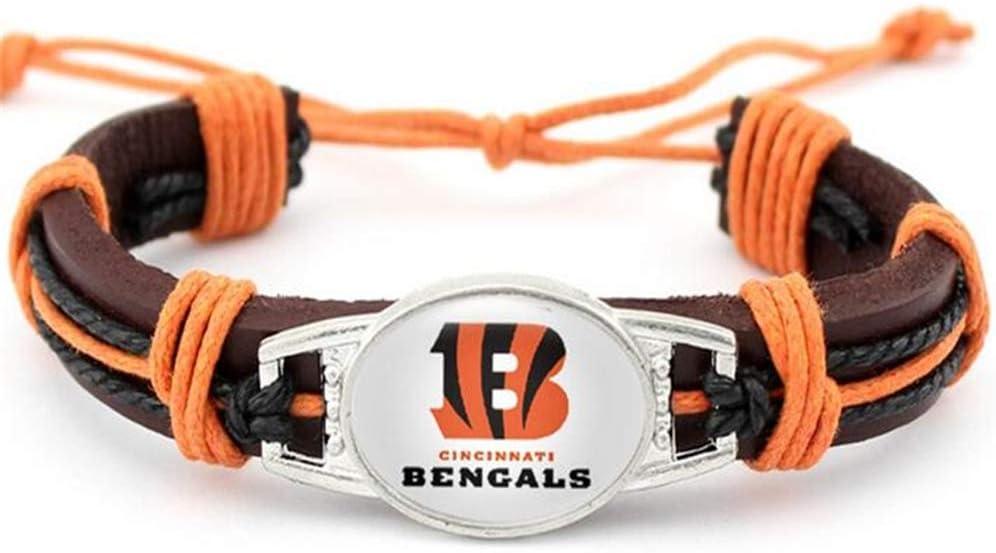 Adjustable Football Paracord Survival Bracelet Paracord Bracelet for Women /& Men