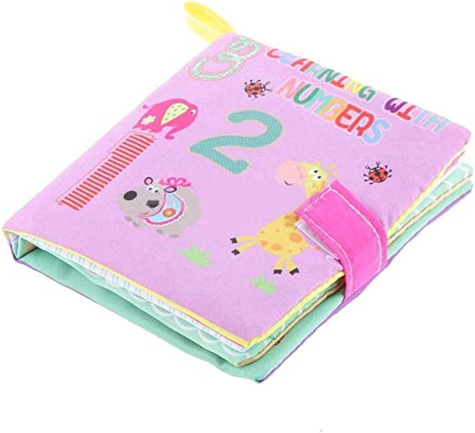 Baby Children Boys Gilrs Intelligence Bed Cognize Book Educational Toys T