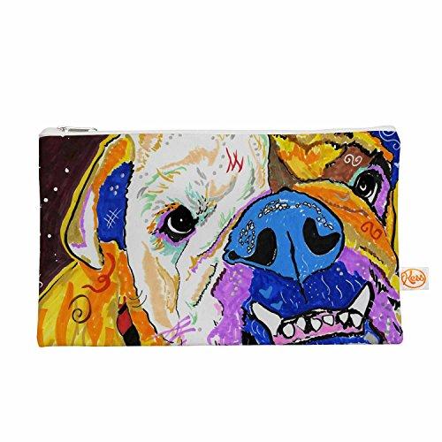 Kess eigene 12,5x 21,6cm Rebecca Fisher Tucker Bulldog Alles Tasche
