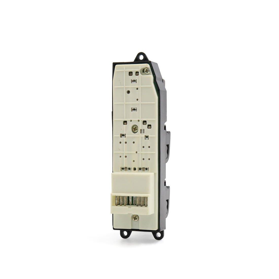 uxcell Electric Power Window Master Switch RHD for 1998-1999 Toyota Avalon 000000RH