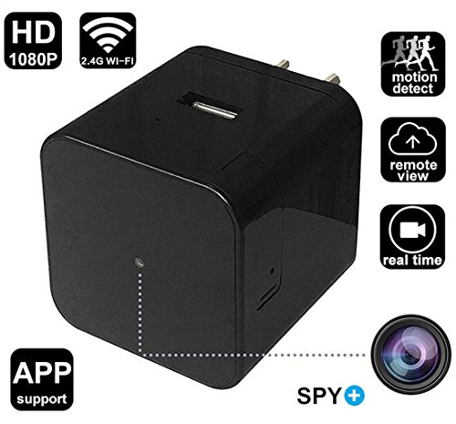 WiFi Hidden Spy Camera Wall Charger HD 1080P Security Camera