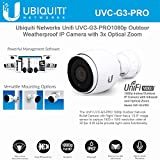 Ubiquiti Network UniFi UVC-G3-PRO 1080p Outdoor Weatherproof IP Camera with 3x Optical Zoom