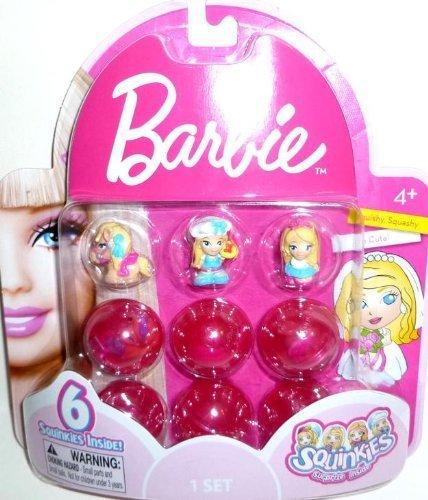 Barbie Squinkies - Set 1, 6 Squinkies
