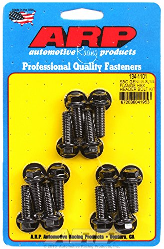 ARP 134-1101 1/4 flange hex header bolt kit for SBC/GENIII LS Automotive Racing Products
