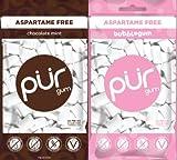 PUR Gum Bubblegum & Chocolate Mint , 2.72 oz Each