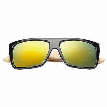 Amazon.com: GHCX - Gafas de sol de pie de bambú, estilo ...