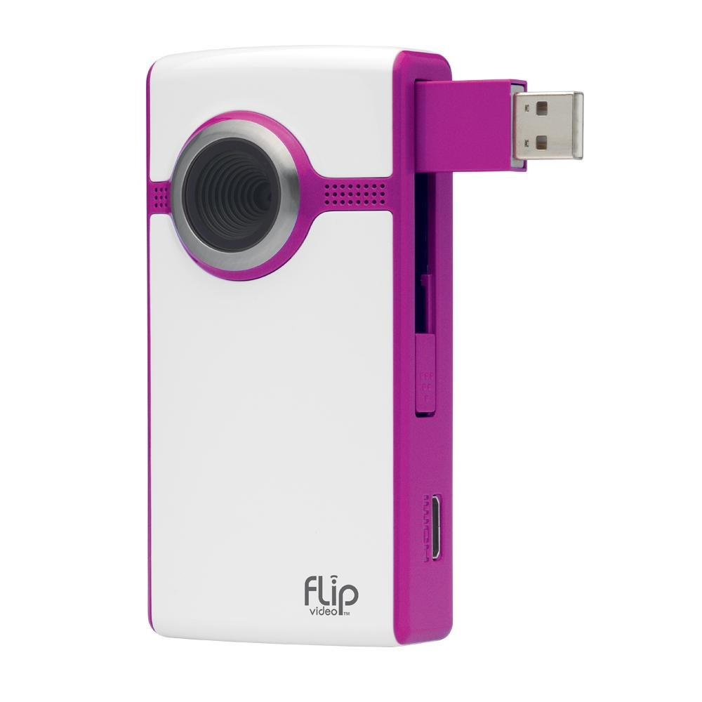 Amazon.com : Flip UltraHD Video Camera 4 GB (Magenta) : Camcorders : Camera  & Photo