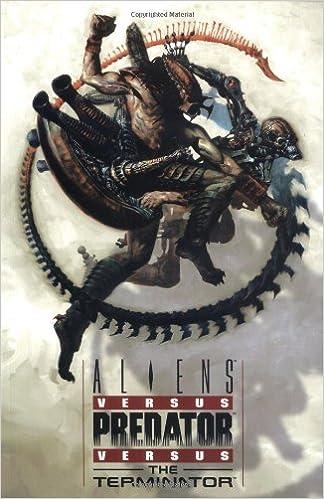 Aliens Vs Predator Vs Terminator Dark Horse Comics Amazon De Bucher