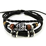 More Fun Oval Black Beads Pure Manual Multi-layer - Best Reviews Guide