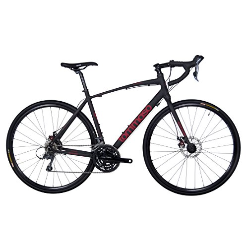 Tommaso Sentiero Gravel Disc Road Bike - Matte Black/Red - Medium Tommaso