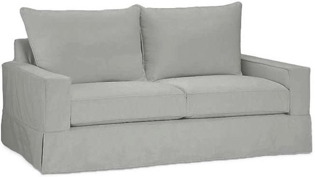 Amazon: The Cotton Sofa Cover Only Fits Pottery Barn PB Comfort Square  Arm Sofa. A Durable Slipcover Replacement (Box Edge): Home & Kitchen