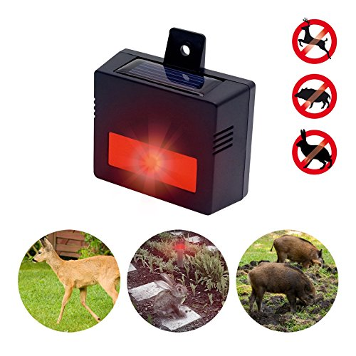 Gardigo Solar Wildtier-Schutz, Abwehr von Hasen, Wildschweine, Füchse, Dachse, Marder