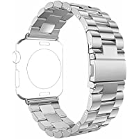 Apple Watch Band, PUGO TOP 42mm Stainless Steel Metal Replacement Classic Band for Apple Watch Series 2 Series...