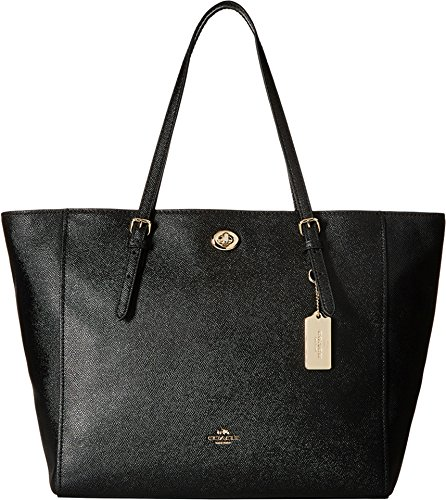 COACH Updated Turnlock Tote LI/Black Tote