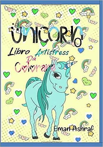 Unicorno Libro Antistress Da Colorare Libro Da Colorare Per