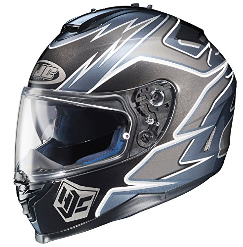 HJC IS-17 Intake Full-Face Motorcycle Helmet (MC-5, - Helmet Face Mc5 Full