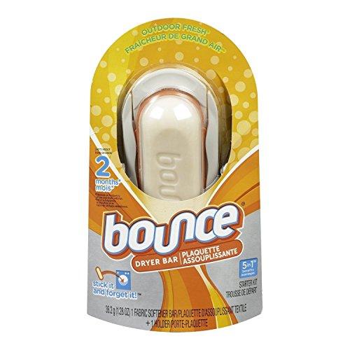 Bounce Dryer Bar Fabric Softener High Efficiency Outdoor Fresh (Dryer Bounce Bar Refill)