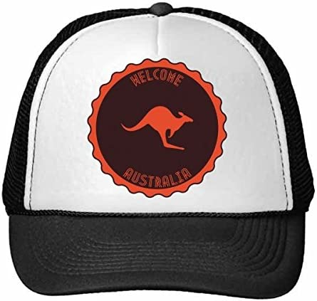 DIYthinker Nylon Gorra de béisbol Australia Sabor Canguro Emblema ...