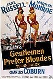 Gentlemen Prefer Blondes 11 x 17 Movie Poster - Style B