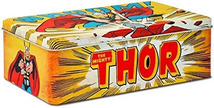 Logoshirt Caja El Poderoso Thor - Whoom! - Lata de Metal Marvel Comics Thor - Whoom! - Coloreado - Diseño Original con Licencia: Amazon.es: Juguetes y juegos